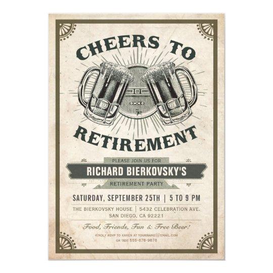 retirement party invite