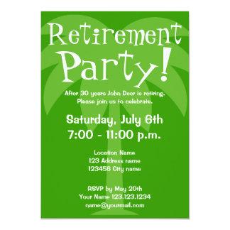 "Retirement party invitations 5"" x 7"" invitation card"