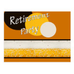 retirement party post card