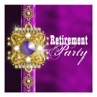 Retirement party retiring farewell CUSTOMIZE Custom Invite
