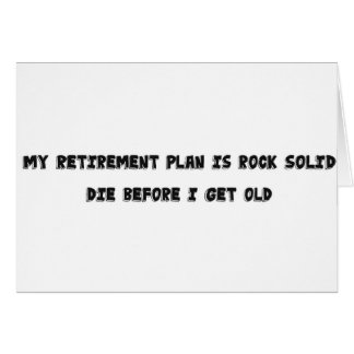 Retirement Plan Card
