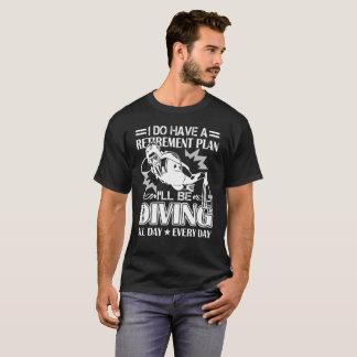 Retirement Plan Scuba Diving Shirt