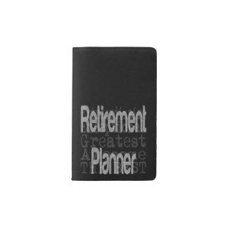 Retirement Planner Extraordinaire Pocket Moleskine Notebook