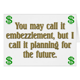 Retirement Planning Card