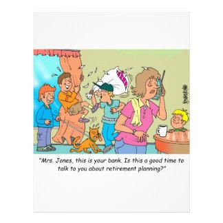 Retirement Planning Customized Letterhead