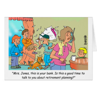 Retirement Planning Greeting Card