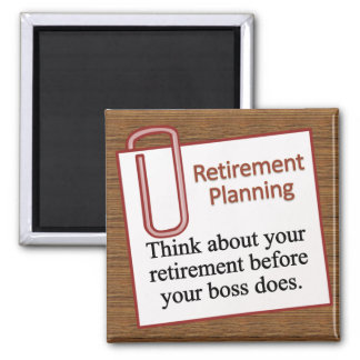 Retirement Planning Magnet
