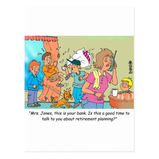 Retirement Planning Postcard