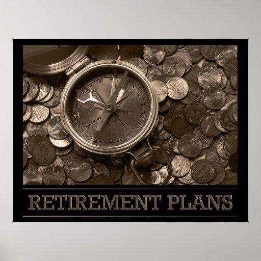 Retirement Plans Poster Zazzle