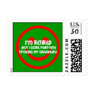 retirement postage