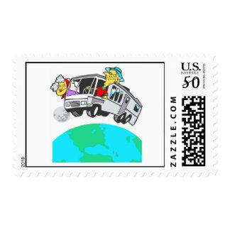 Retirement Postage Stamp