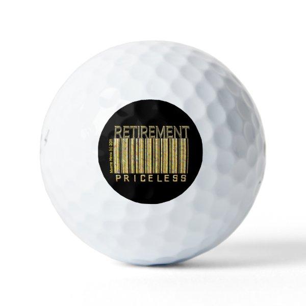 Retirement: Priceless Golf Balls