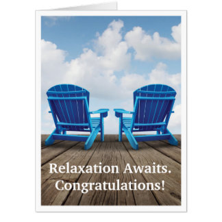 Retirement - Relaxation Awaits Giant Greeting Card