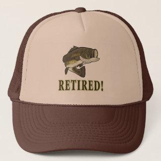 Retirement: Retired: Largemouth Bass Trucker Hat