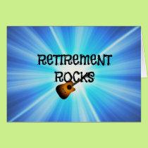 Retirement Rocks Card