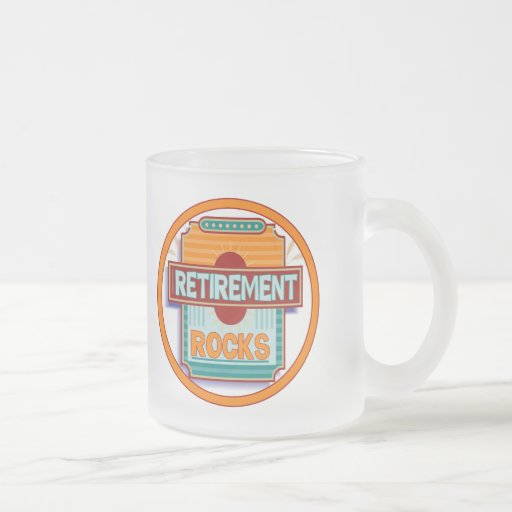 Retirement Rocks Coffee Mugs