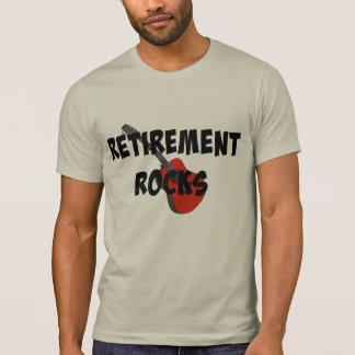 Retirement Rocks, Red Guitar T-Shirt