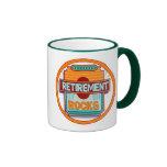 Retirement Rocks Ringer Coffee Mug