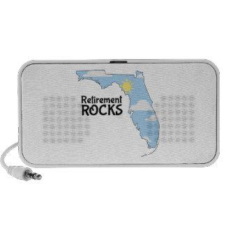 Retirement Rocks Travelling Speaker