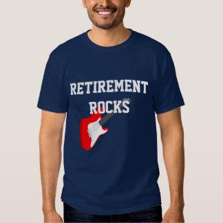 Retirement Rocks Tee Shirts