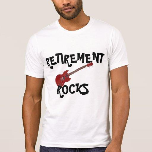 Retirement Rocks T Shirt