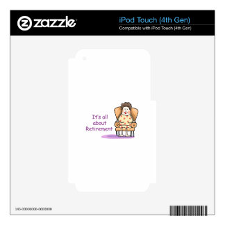 Retirement iPod Touch 4G Skin
