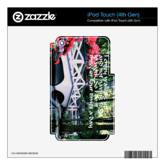 Retirement Skin For iPod Touch 4G