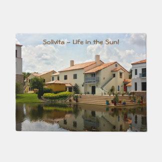 Retirement - Solivita Village Center Kissimmee FL Doormat