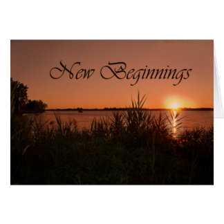Retirement Sunrise Greeting Card