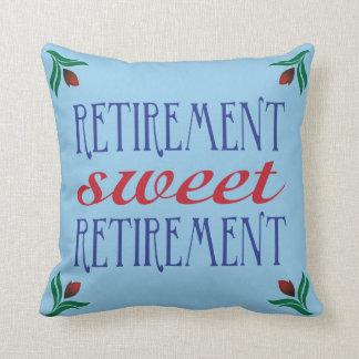 Retirement Sweet Retirement Throw Pillow