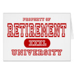 Retirement University Cards