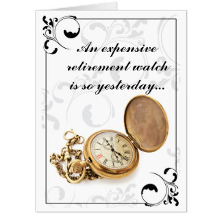 Retirement Watch Card