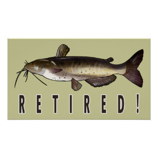 Retirement with Catfish Poster