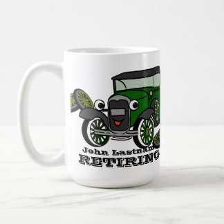 Retiring Antique Car Coffee Mug