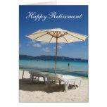 retiring blue shade greeting cards