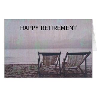retiring chairs card