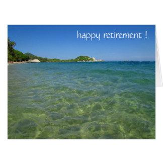 retiring waters card