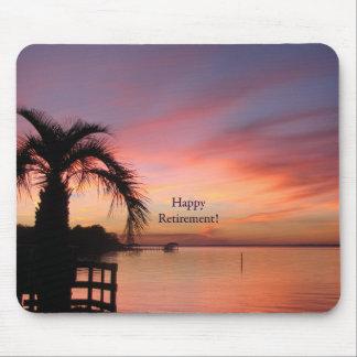 Retirment Florida Sunset Mouse Pad