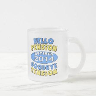 Retiro 2014 taza de café esmerilada