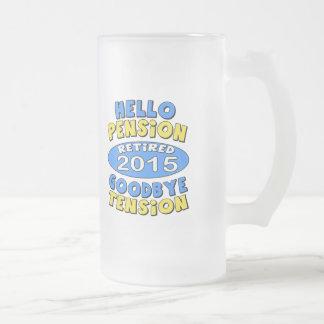 Retiro 2015 taza cristal mate