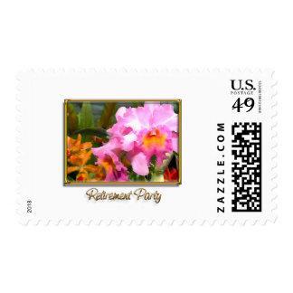 Retiro colorido de Cattleyas Sello