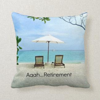 Retiro de Aaah…, escena de relajación de la playa Cojines