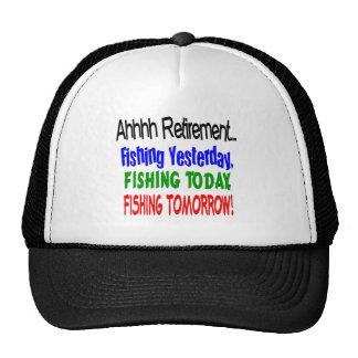 Retiro de Ahhhh que pesca hoy…. Gorra