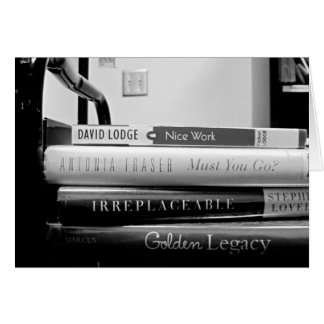 Retiro del bibliotecario del camión de libro/tarje tarjeton