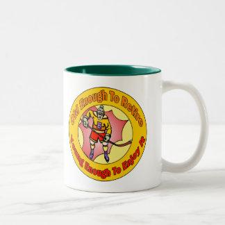 Retiro del hockey tazas de café