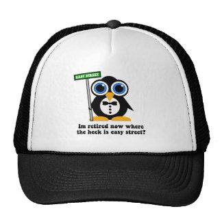 retiro divertido gorras