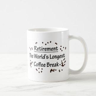 Retiro: El descanso para tomar café más largo del  Tazas De Café