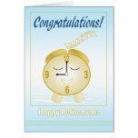 Retiro feliz felicitaciones