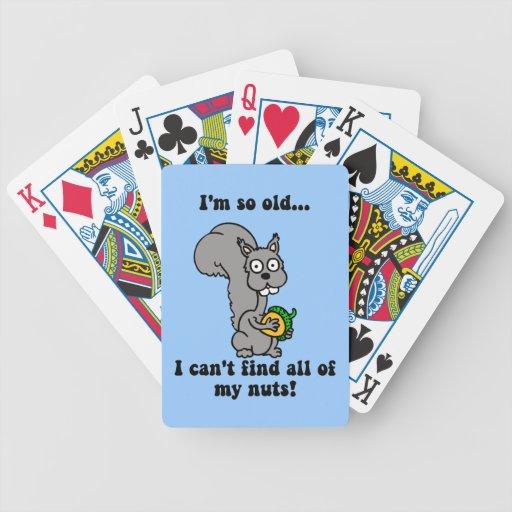 retiro hilarante baraja cartas de poker