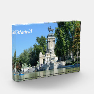 Retiro Park, Madrid, Spain Award